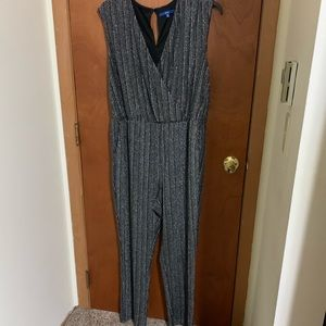 Sparkly jumpsuit - with stretch and POCKETS